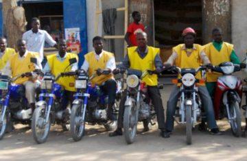 Taxis moto