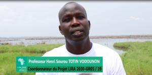 Le coordonnateur du projet LIRA, le Professeur Henri Sourou Totin Vodounon